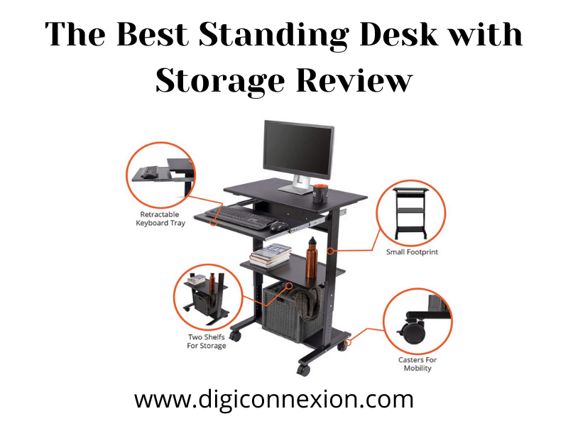 The Best Standing Desk with Storage Review