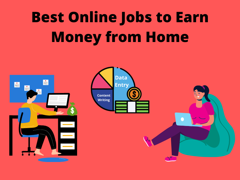 Read more about the article 7 Best Online Jobs to Earn Money from Home 2021 [Earn 40,000]